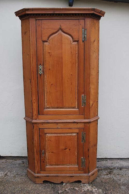 Irish corner cupboard