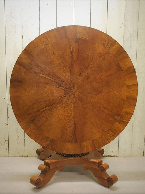 Regency Pollard Oak Centre Table/hall table