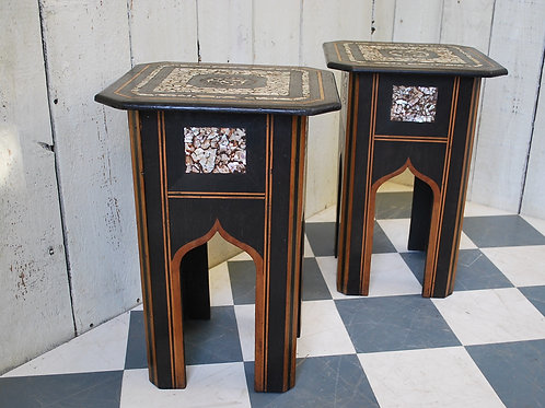 Pair of Liberty & Co 'Turkish' Occasional Tables