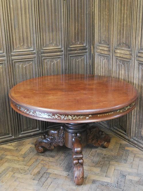 Chinese Solid Rosewood Centre Table
