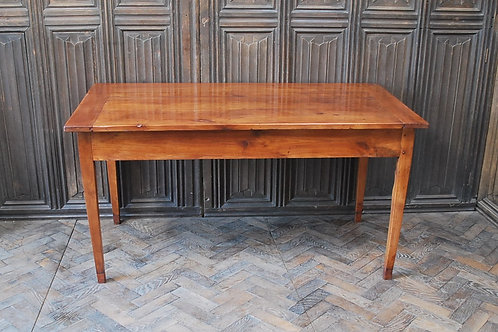 French cherry wood farmhouse table