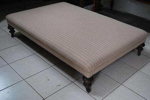 Large footstool/ ottoman