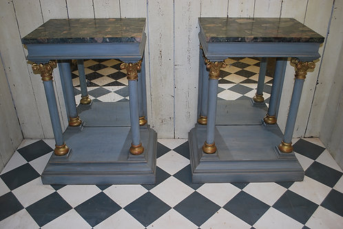 Pair of Italian Console Tables/ pier tables