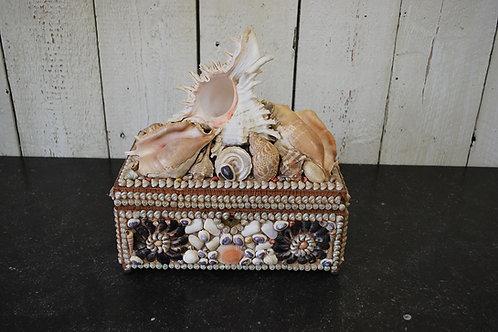 Shell Decorated Jewellery Box