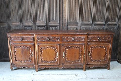 Antique oak French Enfilade/ dresser base
