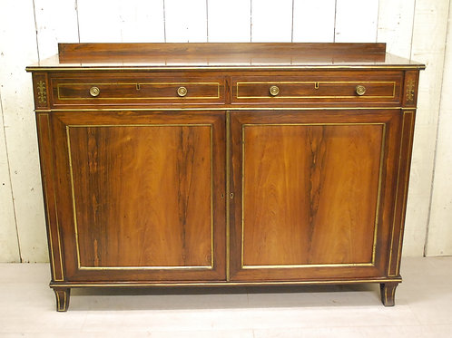 Regency Rosewood Side Cabinet