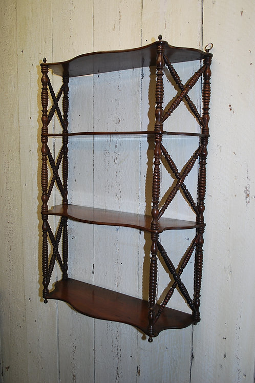 French serpentine hanging Shelves