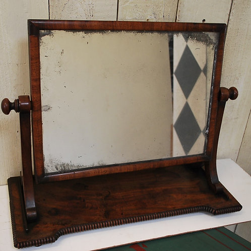 Antique Mahogany Gillows Toilet Mirror
