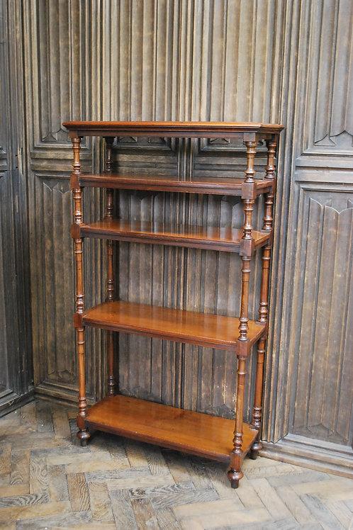 Antique Walnut whatnot/ shelves