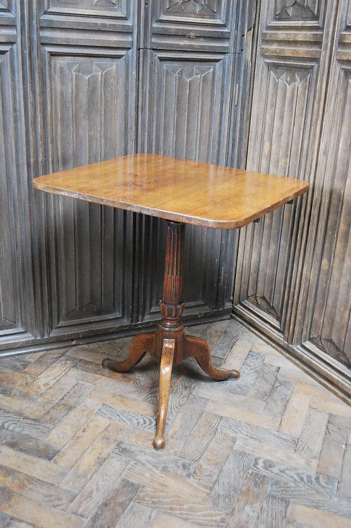 French Oak Tripod Table