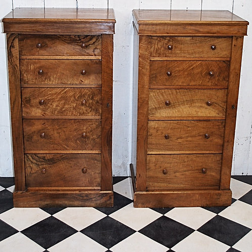 Pair of Wellington chests