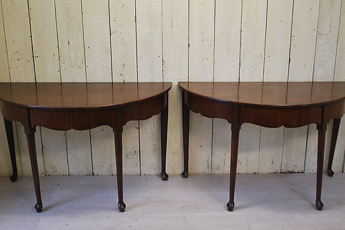 Antique Pair of Georgian Side Tables