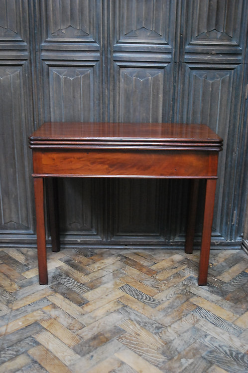 Georgian Triple Top Card /Tea Table