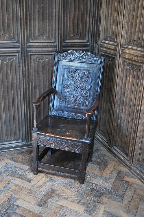 Antique Wainscot Chair