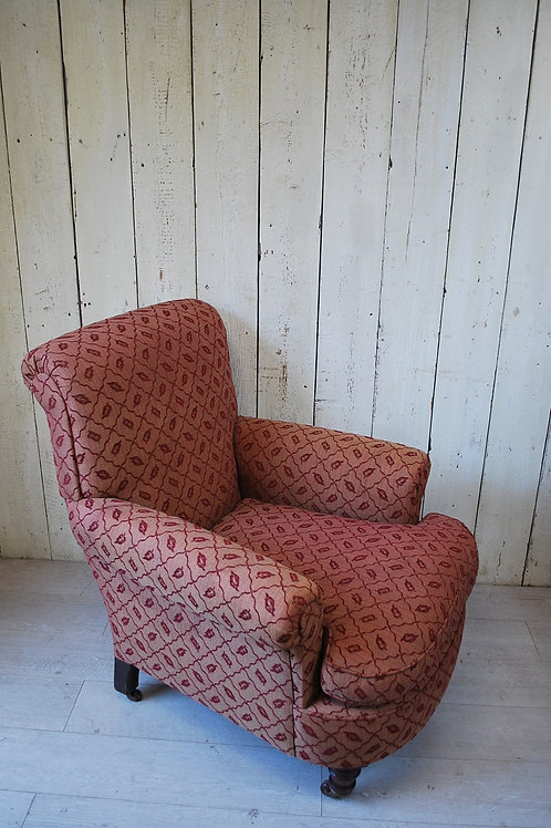 Upholstered Easy Armchair/ Club Chair