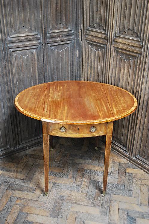 Small George III Sheraton Pembroke table