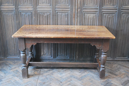 Antique Oak Refectory/dining Table