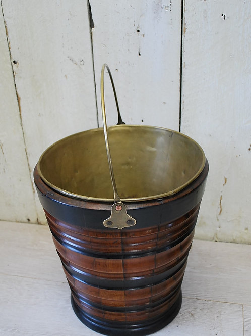 Turned Dutch Fireside Bucket/wastepaper bin/champagne bucket