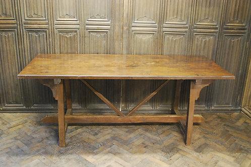 Spanish Chestnut wood tavern table