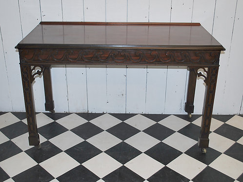 Chippendale serving table