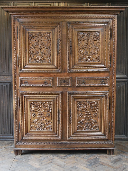 Antique French Housekeepers Cupboard