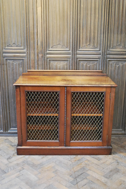 Antique mahogany side cabinet