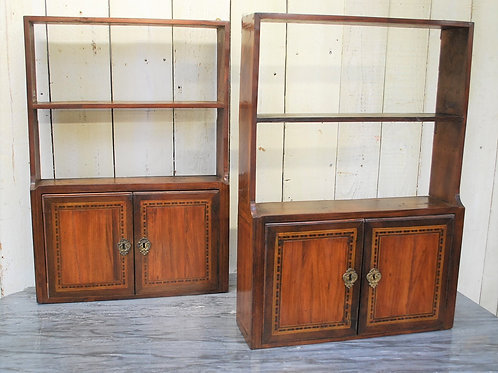 Pair of French Wall Hanging Shelves