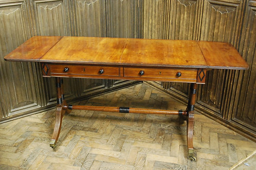Antique Regency sofa table
