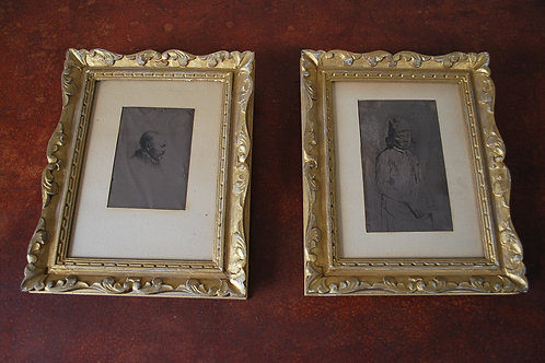 Pair of Rembrandt prints