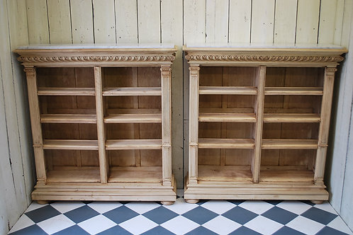 Pair of french Bookcases