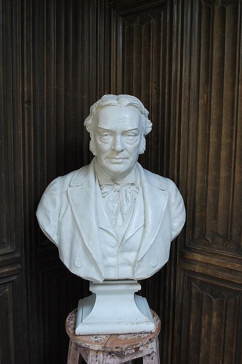 Plaster Bust of W.S Stevenson R.S.A