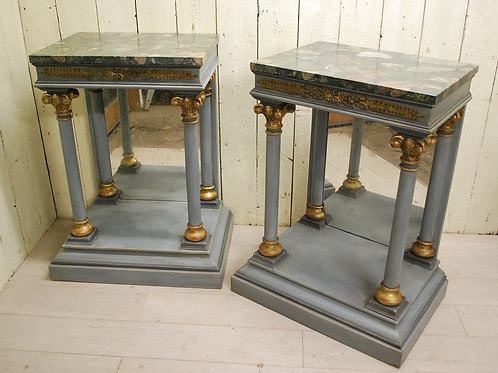 Pair of Italian Console/ Pier Tables