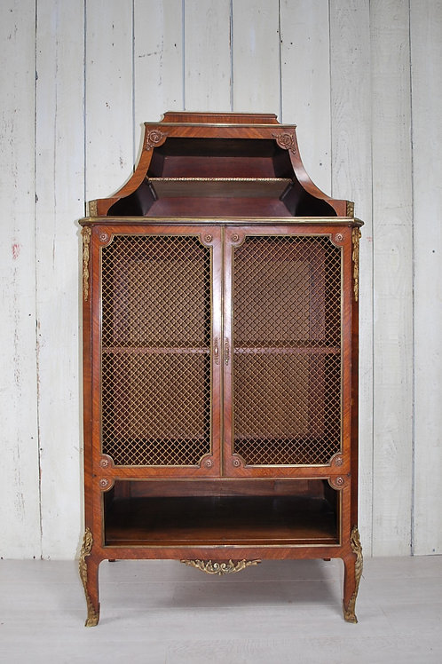 Antique French Side Cabinet/ Bookcase
