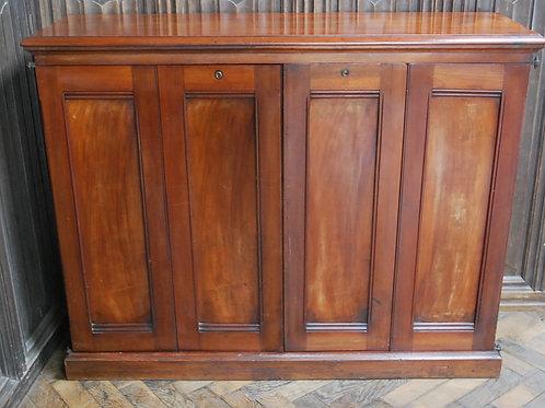 Antique Walnut Library Bookcase
