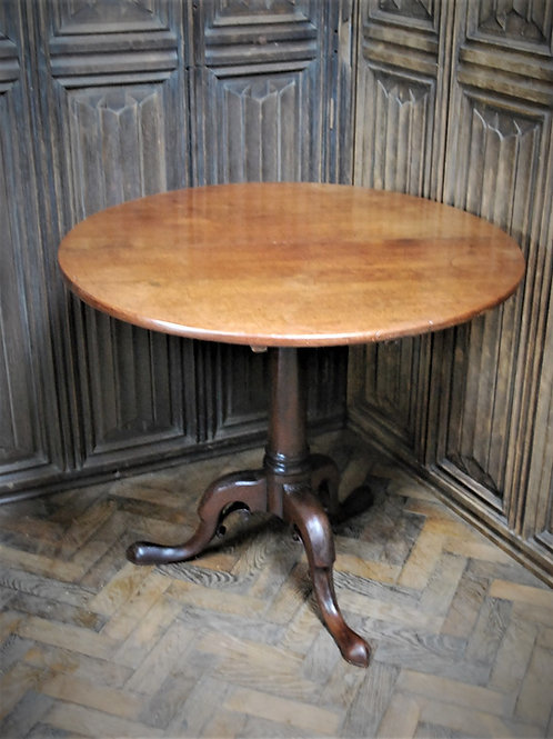Rare George II Cuban mahogany tripod table