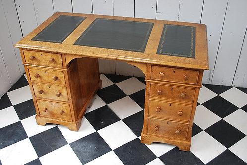Birds eye maple desk