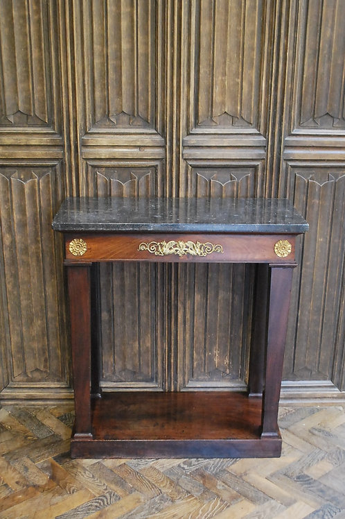 French Empire console / hall table