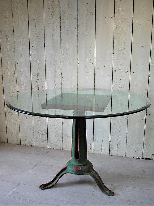 Industrial Iron Garden Centre Table