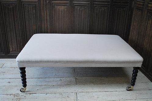 Large modern foot stool/ ottoman