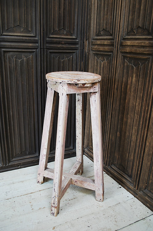 Rustic French Sculpture Stand