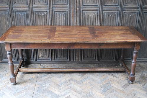 French Oak Kitchen Farmhouse Table