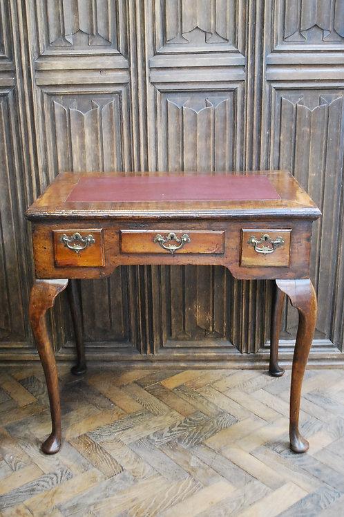 Queen Anne walnut lowboy /side table