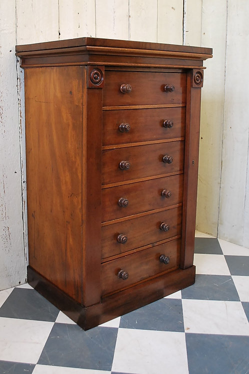 Mahogany Wellington Chest of Drawers