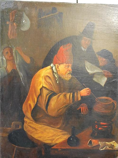The Village Alchemist by Jan Steen