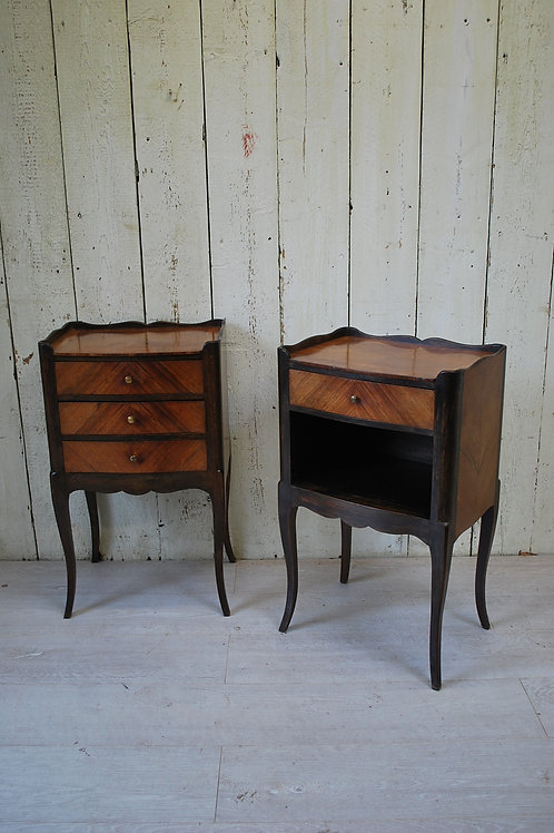 Pair of French Bedside Cabinets / Nightstands