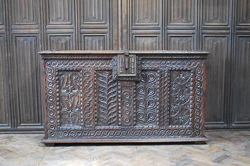 Antique Gothic French Coffer