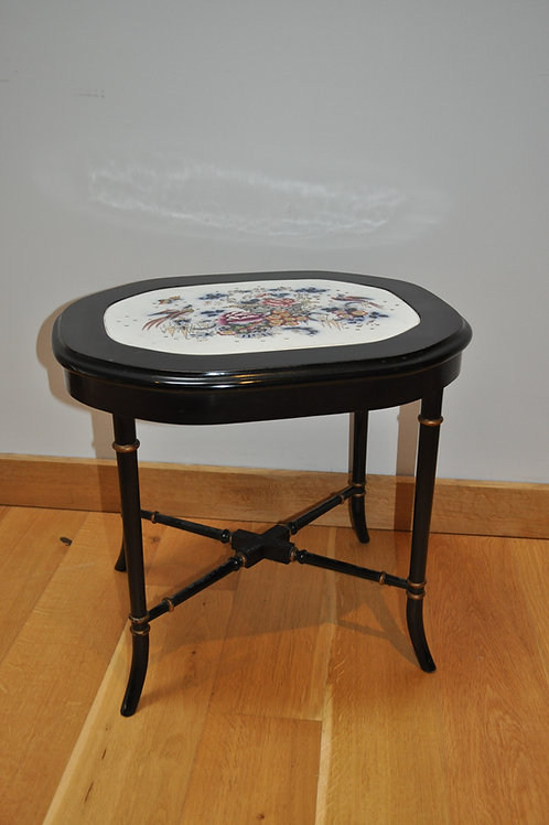 Decorative Ebonised Occasional Coffee Side Table