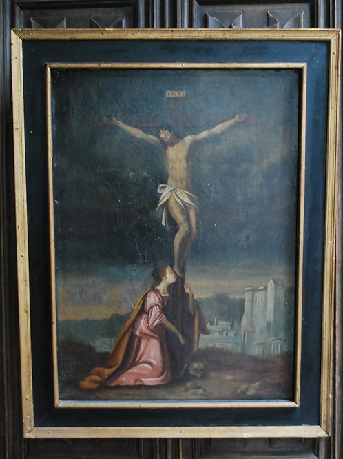 Christ and Mary Magdalene, Oil on Canvas