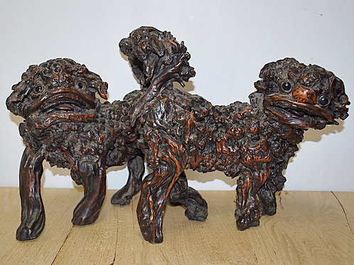 Pair of foo dogs