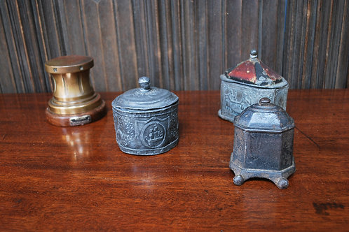 Collection of Tobacco Jars